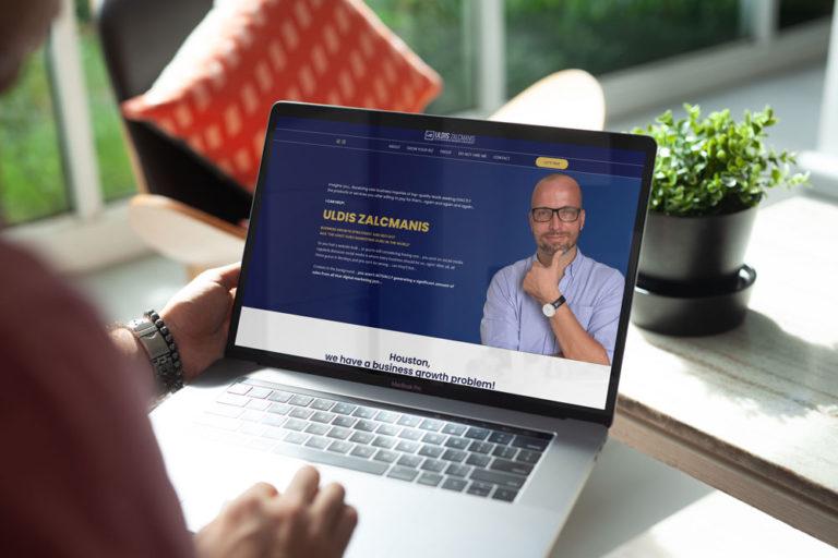 uldis biz web design project