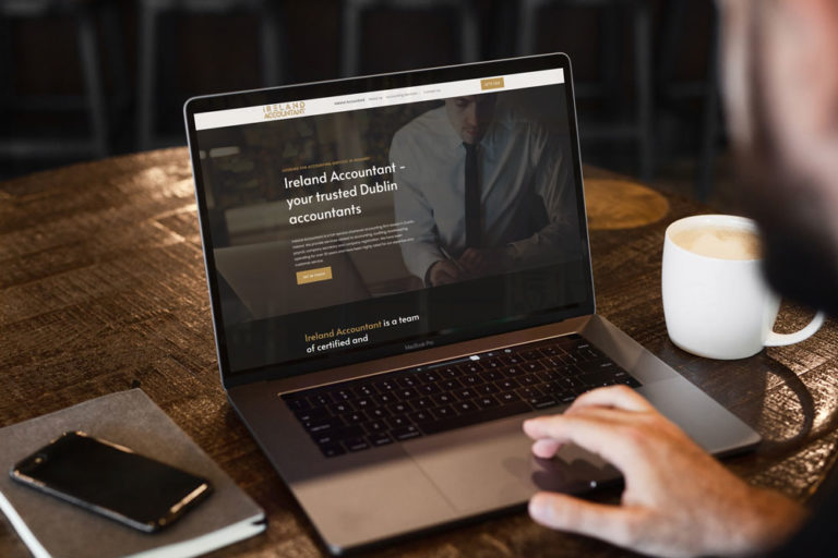 web design project for ireland accountant