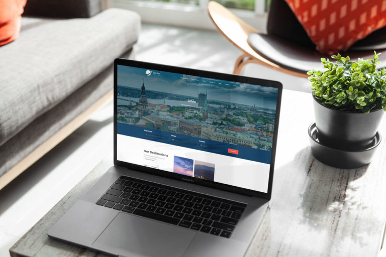 website design for tour company abg tours